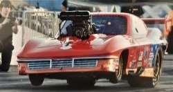 Top Sportsman 63 Corvette Blown BAE Drag Racing Car For Sale