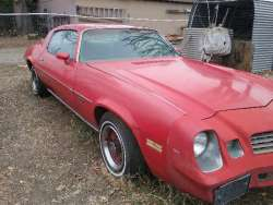 Is it the Ultimate Unmolested Barn Find 1978 Camaro For Sale
