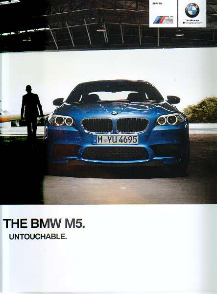 Full Size Image Official BMW M5 Brochure For Sale