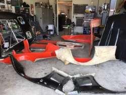 1982 C3 GT1 Corvette Road Racing Car For Sale - Body Moulds