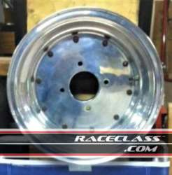 Four Vintage Alumimun Racing Wheels For Sale