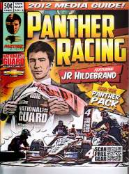 Panther Racing JR Hildeband IndyCar Media Guide For Sale