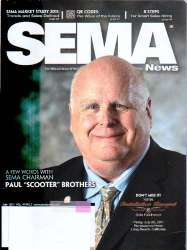 SEMA News Magazine July 2011 Edition For Sale