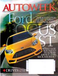 AutoWeek Magazine August 6 2012 Edition For Sale