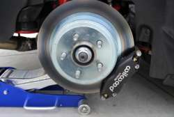 Challenger Charger TCE Drag Racing Front Brake Kit - 3