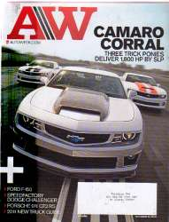 AutoWeek Magazine October 25 2010 Edition For Sale
