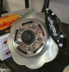 Challenger Charger TCE Drag Racing Front Brake Kit - 4