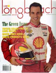 Live Long Beach Magazine with Helio Castroneves For Sale
