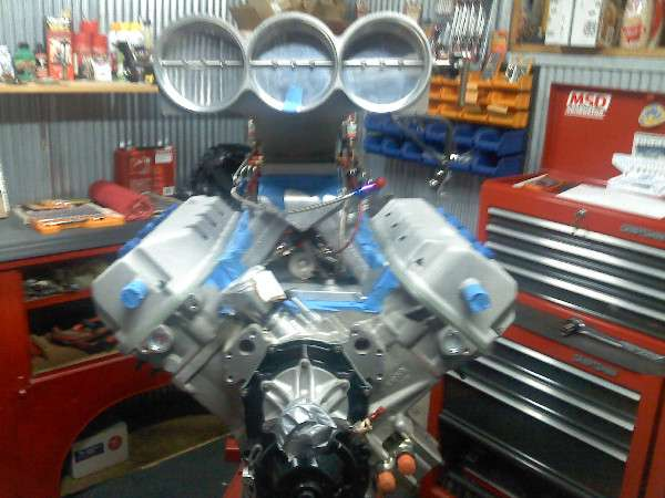 426 Cubic Inch HEMI Drag Racing Engine For Sale | Complete