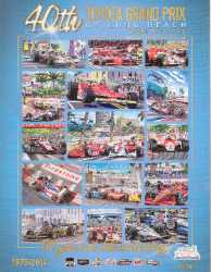2014 Long Beach Grand Prix Racing Program