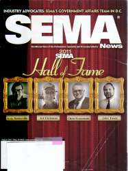 SEMA News Magazine August 2011 Edition For Sale