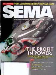 SEMA News Magazine March 2011 Edition For Sale