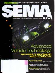 SEMA News Magazine April 2011 Edition For Sale
