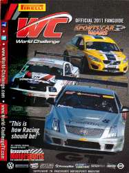 Pirelli World Challenge Official 2011 Fanguide For Sale