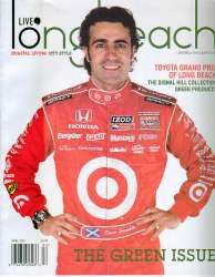Live Long Beach Magazine with Dario Franchitti For Sale